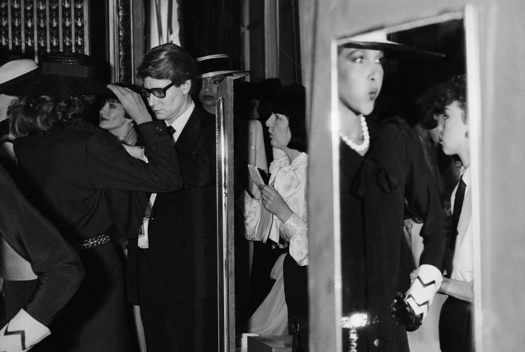 VLADIMIR SICHOV Yves Saint Laurent backstage