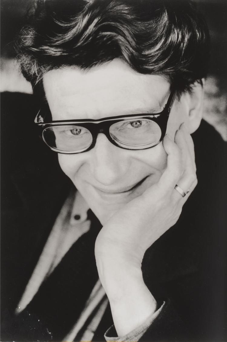 ANDRE RAU Portrait de Yves Saint Laurent.