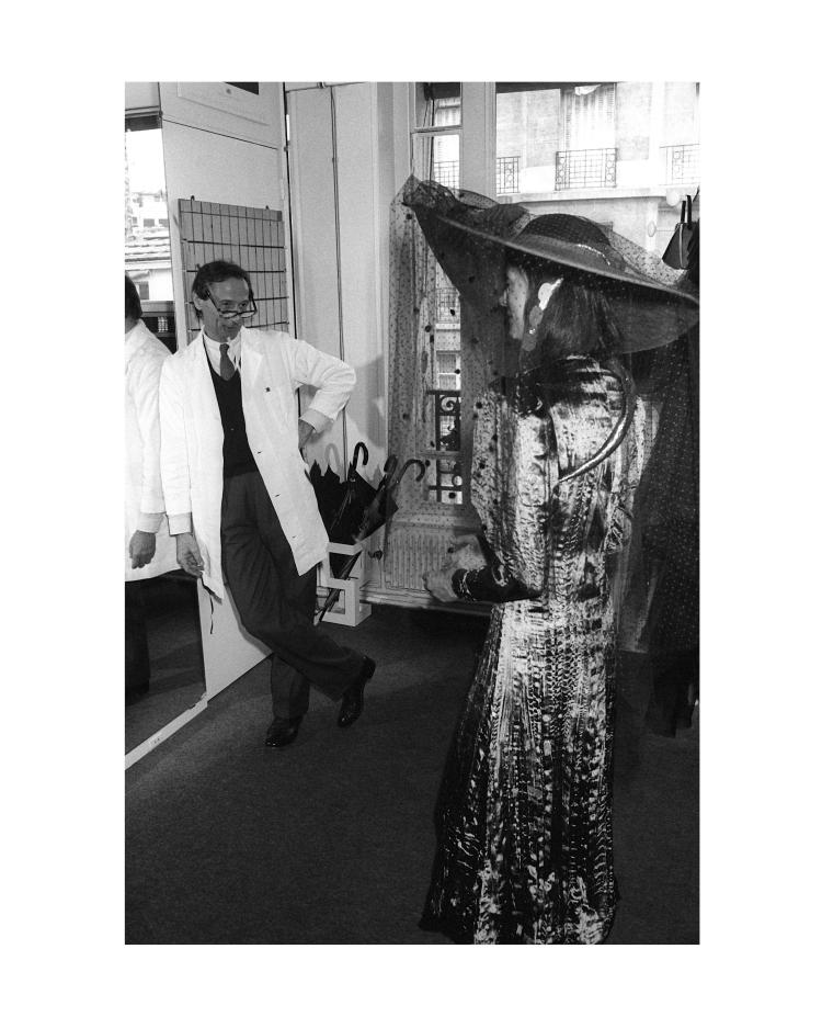 GUY MARINEAU Marc Bohan Dior studio et Niki de Saint Phalle 1992