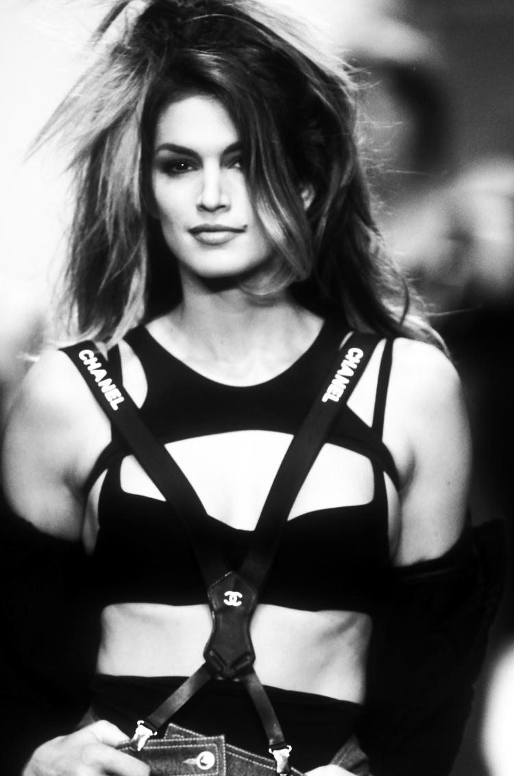 Guy Marineau Cindy Crawford collection Chanel 1994