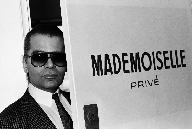 VLADIMIR SICHOV Karl Lagerfeld studio Chanel