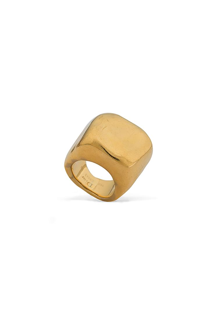 DIOR Bague en or jaune «Nougat».