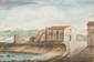 LEMONNIER  Chapelle sur le chemin de Montredon.  Aquarelle.  Signée et datée 1824 en bas à droite.  19,5 x 13 cm.