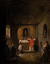 François-Marius GRANET (1775-1849)  Le baptême. 1824.