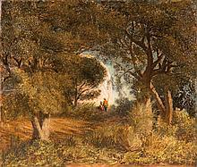 Prosper GRESY (1804-1874)  Le chasseur. 1862.