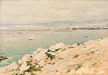 Alfred CASILE (1848-1909)  Le bassin de la Joliette. 1893.
