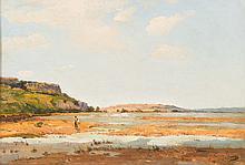 Alfred CASILE (1848-1909)  Pêcheurs sur la Durance.