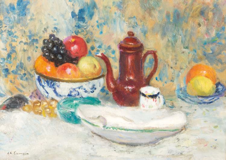 Charles CAMOIN (1879-1965)  Nature morte.
