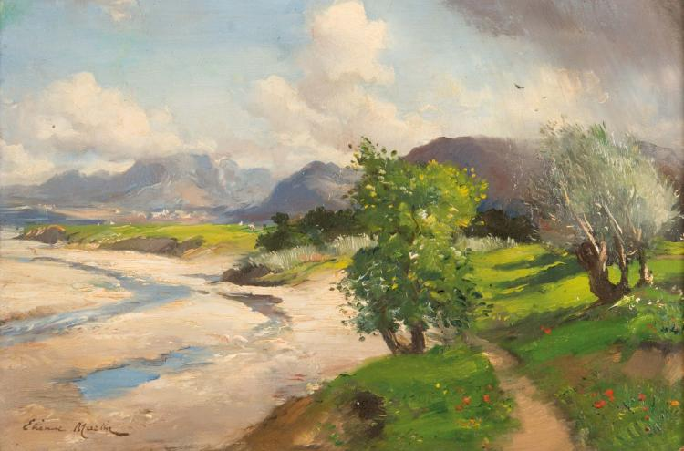 Étienne Philippe MARTIN (1856/58-1945)  La Durance.