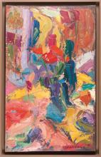 Antoine FERRARI (1910-1995) Nature morte au bouquet
