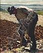René SEYSSAUD (1867-1952)Lou Lichetaire (Le bêcheur).Huile sur carton.Signée en bas à droite.23,5 x 30,5 cm., René Seyssaud, Click for value