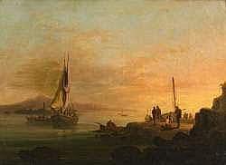 François Pierre BARRY (1813-1905). Le retour de la