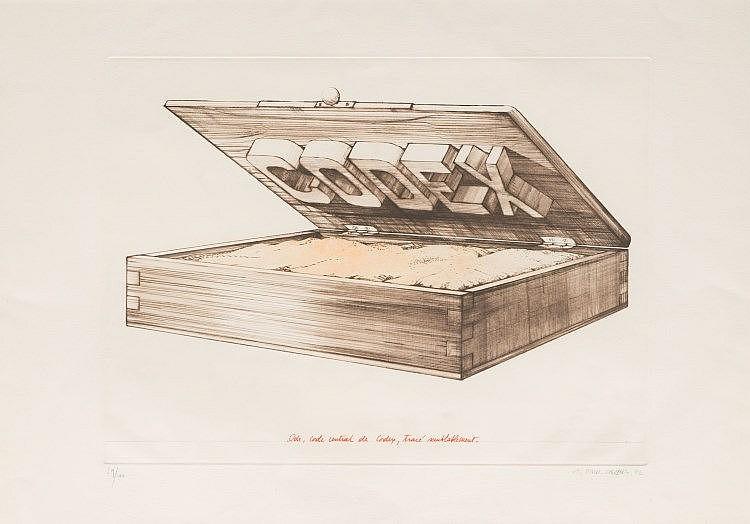 TITUS CARMEL (1942)  Codex. 1972  Gravure.