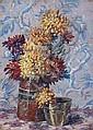 Henri AURRENS (1873-1934)Bouquet de fleurs.Huile sur carton.Signée en bas à droite.47 x 33,5 cm., Henri Aurrens, Click for value