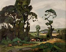 MARCEL PARTURIER (1901-1976) Environs de Carolles, Normandie