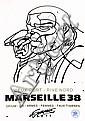 SOZYONE GONZALEZ (1973)  Marseille 38.  Encre de chine sur papier.  70 x 100 cm.,  SOZYONE, Click for value