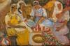 Edouard Léon Louis LEGRAND (1892-1970)  Harem.  Huile sur carton.  Signée en bas à gauche.  24 x 35 cm., René (1923) Legrand, Click for value