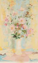 Le Pho (1907 – 2001)  Vase de fleurs