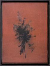 Nasser ASSAR (IRI/1928-2011) Sans titre, 1963 Huile sur toile