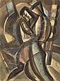 Russian Art:  Wladimir TATLIN (1885-1953) - La, Vladimir Tatlin, Click for value