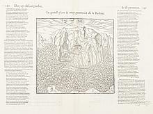 BELLEFOREST   La Baulme (2 ex.). Aix-en-Provence (2 ex.). Avignon. Nice. Gravure. 1575.