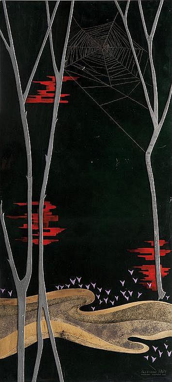 Paul Etienne Saïn (1904-1985) Important panneau en