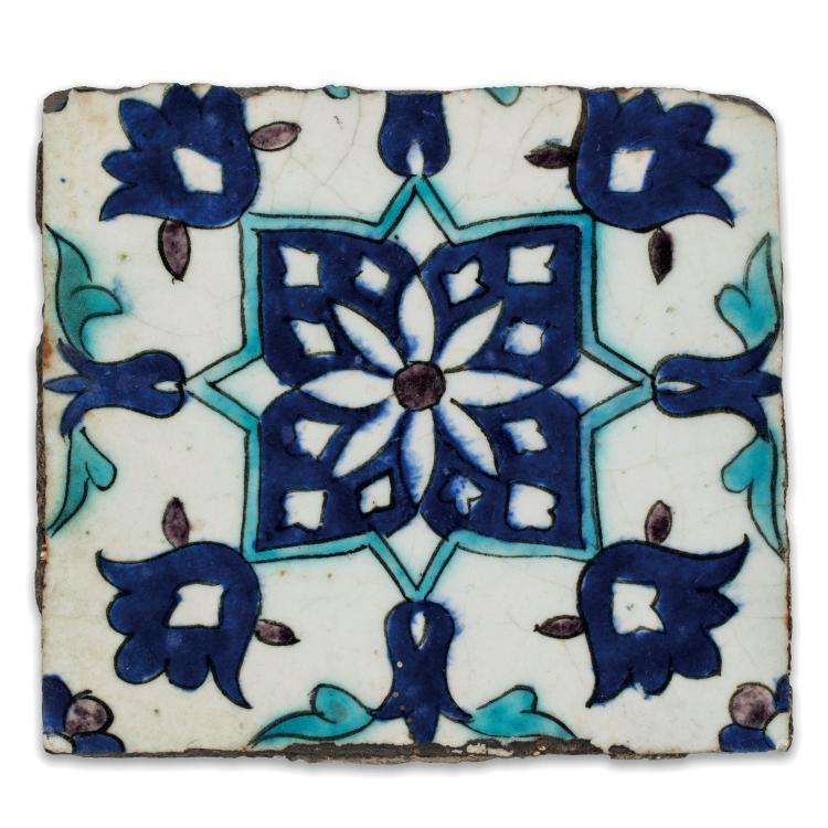 carreau de rev tement en c ramique d cor de fleurs aux co. Black Bedroom Furniture Sets. Home Design Ideas