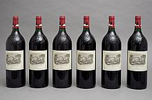 6 magnums CHÂTEAU LAFITE ROTHSCHILD 1998 GCC1 Pauillac