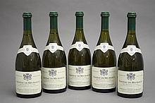 5 bouteilles MEURSAULT (1er Cru) 1998 Dne du Cht de Meursault