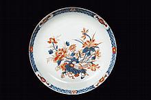 Deux assiettes en porcelaine imari chinois
