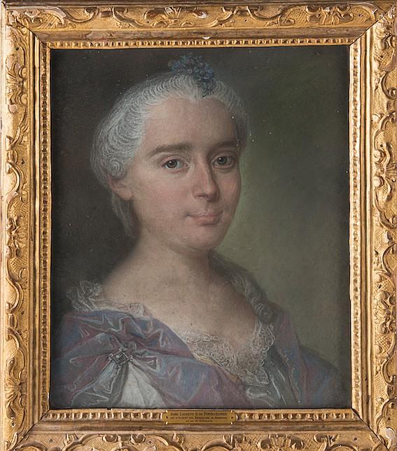 Claude ARNULPHY (Lyon 1697 - Aix en Provence 1786)  Portrait de Jean Baptiste Laurent Boyer de Fonscolombe (1716 - 1788, avocat et collectionneur)