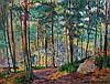 CARLOS REYMOND (1884-1970)  La forêt