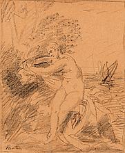 HENRI FANTIN-LATOUR (1836-1904)  Nymphe