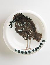 PABLO PICASSO (1881-1973)  Oiseau au ver (A.R. 172)