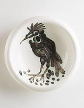 PABLO PICASSO (1881-1973)  Oiseau à la huppe (A.R. 173)