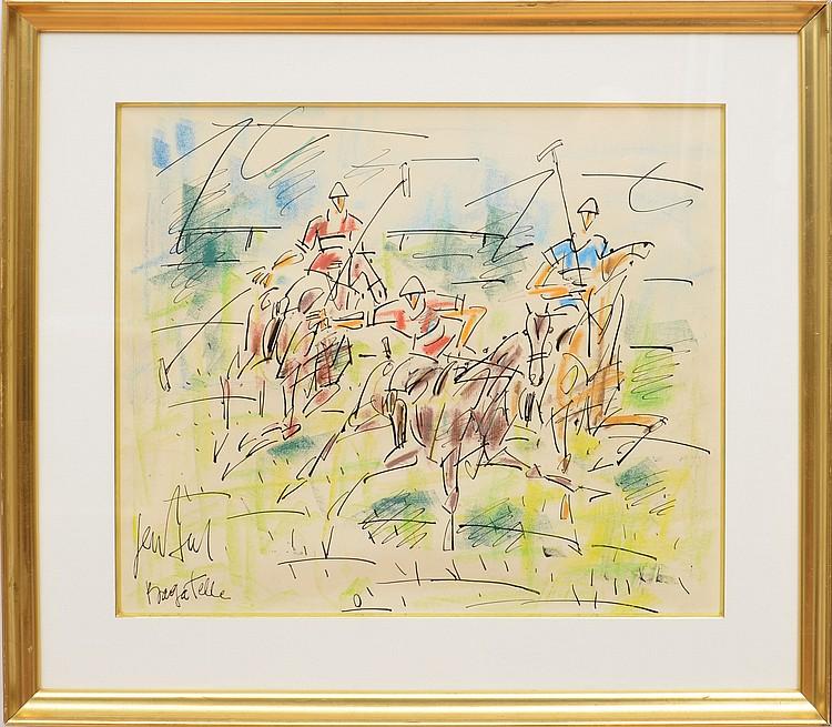 GEN PAUL (1895-1975) Bagatelle