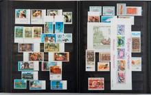 dom tom, monaco et France :  timbres-poste neufs dans un classeur