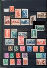 France : coLLection 1938/1964  timbres-poste neufs principalement sans  charnière dans un classeur.