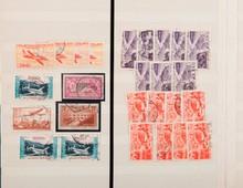 France :  timbres-poste neufs et oblitérés, dont  semi modernes et P.a. dans un classeur