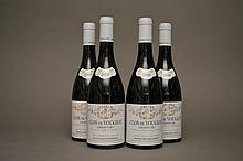 4 bouteilles CLOS DE VOUGEOT (Grand Cru) 2009 Mongeard-Mugneret