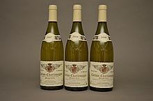 2 bouteilles CORTON CHARLEMAGNE (Grand Cru)  2008 Muskovac  -  1 bouteille CORTON CHARLEMAGNE (Grand Cru)  2007 Muskovac