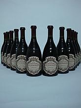 12 bouteilles POMMARD (Caisse Bois) 2000 Château de Pommard