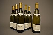 5 bouteilles MONTHELIE Blanc 2010 Domaine Dujardin  -  1 bouteille MONTHELIE Blanc 2011 Domaine Dujardin