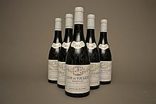 5 bouteilles CLOS DE VOUGEOT (Grand Cru) 2008 Mongeard-Mugneret