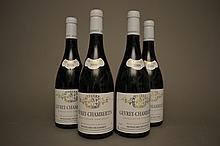 4 bouteilles GEVREY CHAMBERTIN 2009 Mongeard-Mugneret