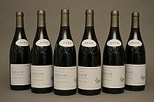6 bouteilles VOLNAY  2009 Domaine des Riottes