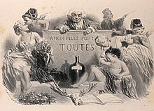 CÉLESTIN FRANÇOIS NANTEUIL (Rome 1813 – Bourron – Marlotte 1873)