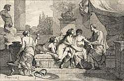 Jean François Pierre PEYRON (1744-1814) - Scène