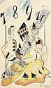 François ANGIBOULT (1887-1950) - L'as de pique., François Angiboult, Click for value