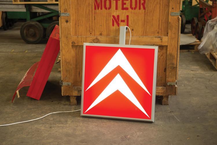 Enseigne Lumineuse Pour Salons Et 233 V 233 Nements Logo Citro 235 N